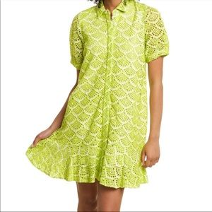 Tanya Taylor Aliciana Eyelet Dress 10